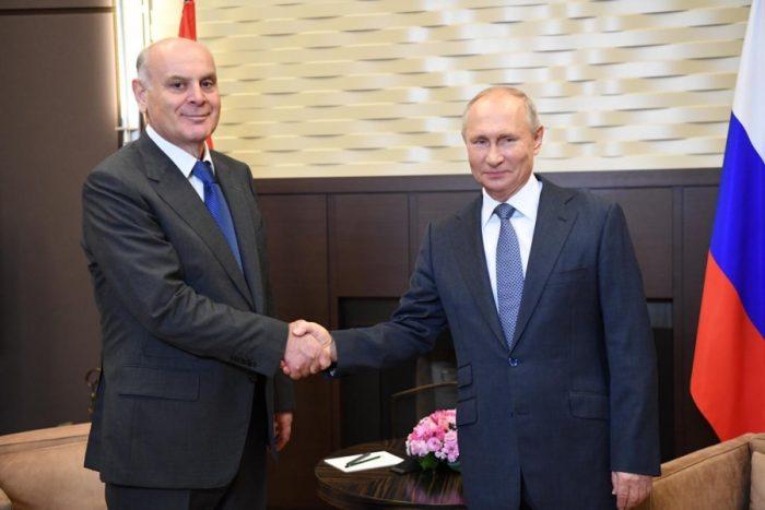 ოკუპანტი რუსეთის და ოკუპირებული აფხაზეთის ე.წ. პრეზიდენტების შეხვედრის დეტალები, რომელიც ამ დროისთვის გასაჯაროვდა