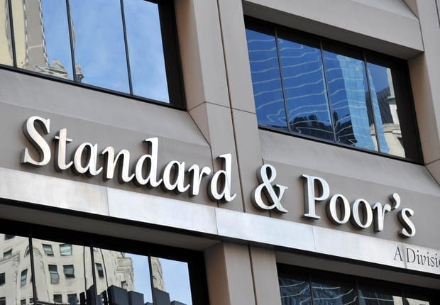 Standard & Poor's headquarters in the financial district of New York on August 6, 2011. The United States' credit rating was cut for the first time ever August 5 when Standard and Poor's lowered it from triple-A to AA+, citing the country's looming deficit burden and weak policy-making process. AFP PHOTO/Stan HONDA